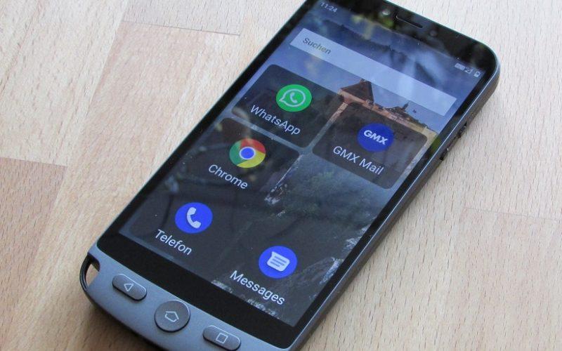Blaupunkt Smartphone für Senioren mit Android 10 (Go Edition)